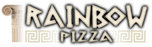 Rainbow Pizza at San Mateo California | Greek and Italian Cuisine | The best Pizza and Pasta at California